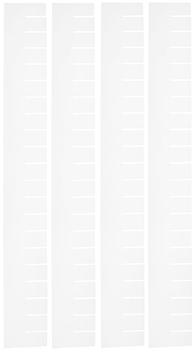 Набор разделителей для ящиков Handy Home, 57 x 7 см, 4 штNP-02Набор разделителей для ящиков Handy Home – это идеальный способ организовать пространство в комоде, тумбочке или шкафу. Подходит для любых ящиков. Достаточно отломить детали необходимой длины и соединить их вместе.