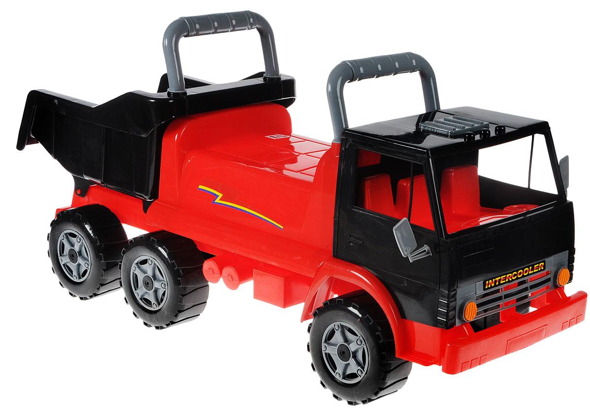 Орион Машина-каталка цвет красный черный -  Каталки, понициклы