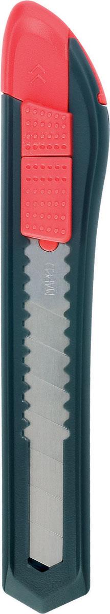 Maped Нож канцелярский Start 18 мм018211Канцелярский нож Maped Start предназначен для работы с бумагой, плотным картоном, пленкой и так далее.Корпус ножа выполнен из пластика. Выдвижное многосекционное лезвие изготовлено из высококачественного металла. Нож оснащен плоским ручным фиксатором и системой блокировки лезвия.