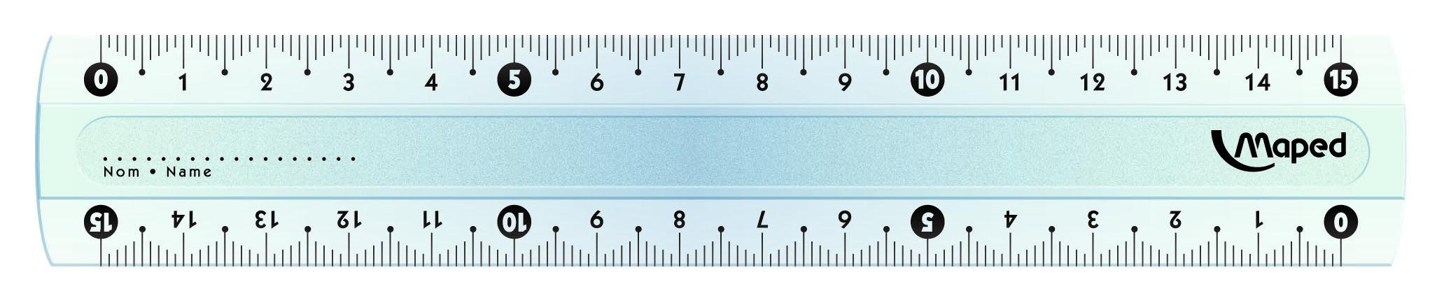 Maped Линейка Start цвет прозрачный 15 см146507Линейка Maped используется как традиционный инструмент для черчения и рисования полей в школьных тетрадях.Изделие выполнено из небьющегося пластика (в случае использования по назначению). Градуировка нанесена УФ-чернилами, которые не сотрутся при длительном использовании.