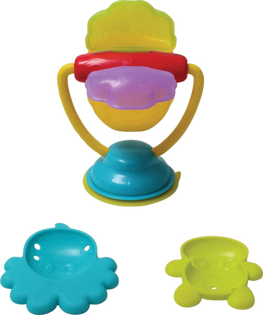 Playgro Игрушка для ванной Мельница формочки для льда осьминог эврика