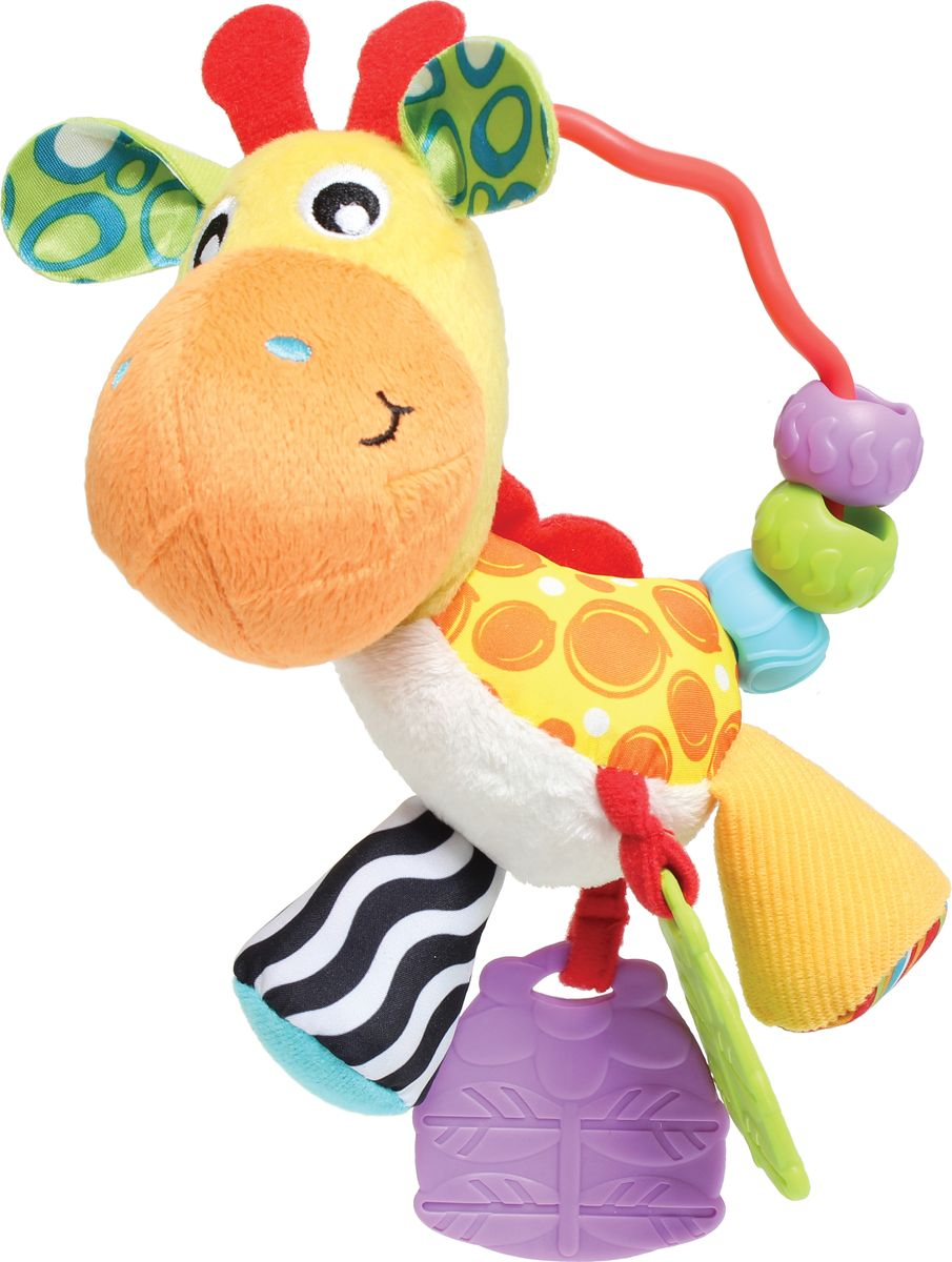 Playgro Погремушка Жираф игрушка погремушка playgro тигр