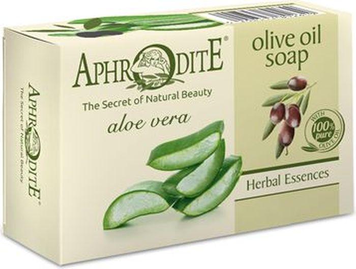 Aphrodite Мыло оливковое с алоэ вера, 100 гZ-81Уникальное натуральное мыло, изготовленное по старинным греческим рецептам на основе оливкового масла и алоэ вера, способно снабжать влагой эпидермис и оздоравливать кожу. Экстракт алоэ вера часто входит в состав натуральной косметики, благодаря высокому процентному содержанию аминокислот, витаминов и микроэлементов. Своими удивительными ранозаживляющими и увлажняющими свойствами это растение известно с древних времен. Мыло бережно очищает, смягчает и успокаивает сухую, раздраженную кожу лица и тела. Не содержит отдушек и не сушит кожу. 100% натуральный продукт. Косметика на оливковом масле Aphrodite производится только из природных ингредиентов. Не содержит консервантов, животных жиров и искусственных красителей.