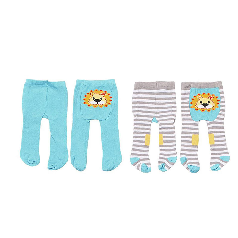 Baby Born Одежда для кукол Колготки цвет голубой 2 шт