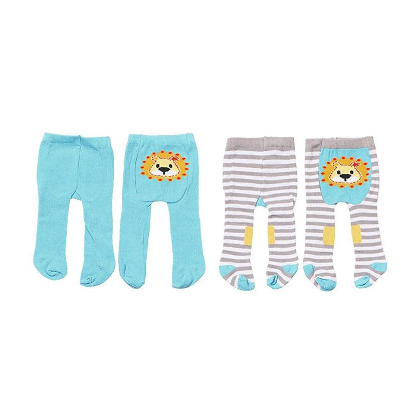 Baby Born Одежда для кукол Колготки цвет голубой 2 шт baby born одежда для дождливой погоды