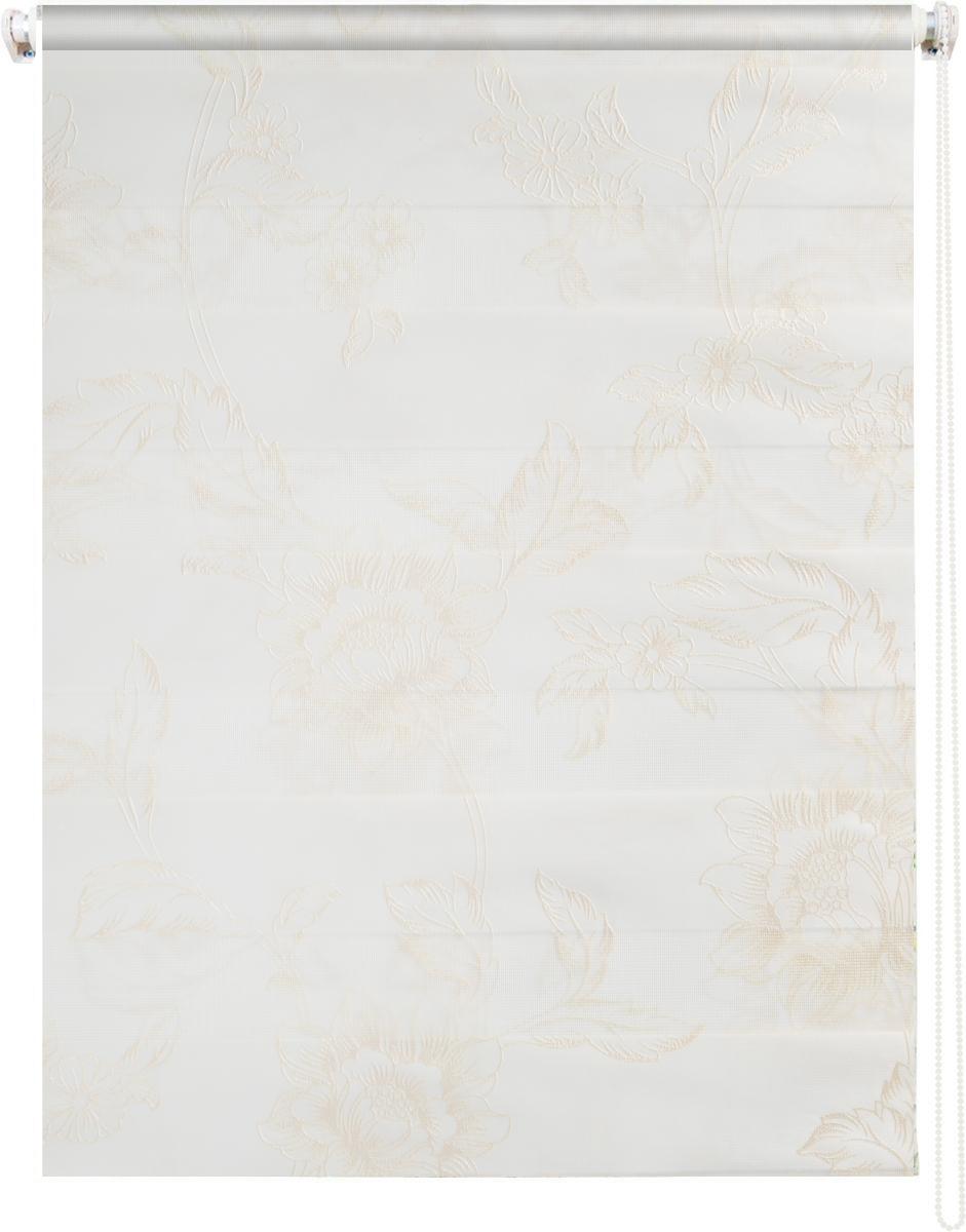 Штора рулонная Dr. Deco Полосы, день-ночь, с креплением на раму, цвет: молочный, белый, 57 х 160 см1219057/2 W2040_цветы,молочныйШтора рулонная Dr. Deco Полосы изготовлена из высокопрочной плотной ткани с прозрачными полосками. Ткань не выцветает, обладает отличной цветоустойчивостью и сохраняет свой размер даже при намокании. Штора рулонная Dr. Deco Полосы закрывает не весь оконный проем, а непосредственно само стекло. Крепление универсальное, штора крепится либо скобами на раму, либо на крепление с двусторонним скотчем. Штора рулонная Dr. Deco Полосы - это отличное решение для тех, кто не хочет утяжелять помещение тканевыми шторами. Она не только открывает пространство, но и легко регулирует подачу света в помещении, сдвигая полоски относительно друг друга. Происходит это с помощью шнура-цепочки. В комплект входит: - 2 крепления,- 2 самореза,- 2 дюбеля,- шнур-цепочка,- штора.