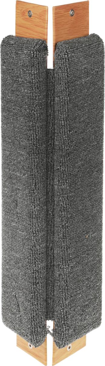 Когтеточка Неженка, угловая, с кошачьей мятой, 51 х 20 х 2,5 см6921Когтеточка Неженка поможет сохранить мебель и ковры в доме от когтейвашего любимца, стремящегося удовлетворить свою естественнуюпотребность точить когти.Основание изделия изготовлено из ДСП и обтянуто прочной тканью, а столб для точения когтей обтянут джутом. Товар продуман в мельчайших деталях и, несомненно, понравится вашей кошке.Всем кошкам необходимо стачивать когти. Когтеточка - один из самыхнеобходимых аксессуаров для кошки. Для приучения к когтеточке можнонатереть ее сухой валерьянкой или кошачьей мятой. Когтеточка поможет вашемулюбимцу стачивать когти и при этом не портить вашу мебель.