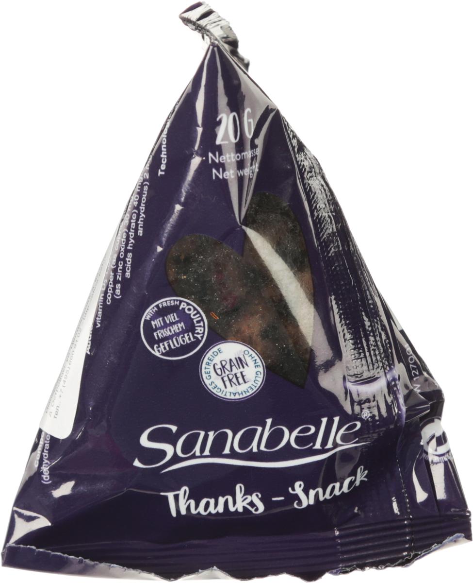 Лакомство_для_кошек_Sanabelle_~Thanks-Snack~,_со_вкусом_мяса_домашней_птицы,_20_г._16646