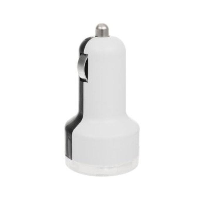 Устройство зарядное Триада USB-750, 2 гнезда, цвет: белый, черный11323_белый/черныйЗарядное устройство Триада USB-750 предназначено для зарядки современных устройств, в том числе для IPhone и IPad. Устройство гарантированно проходит все ступени проверки ОТК на работоспособность. Работает от автомобильного прикуривателя.Ток: 3 А.