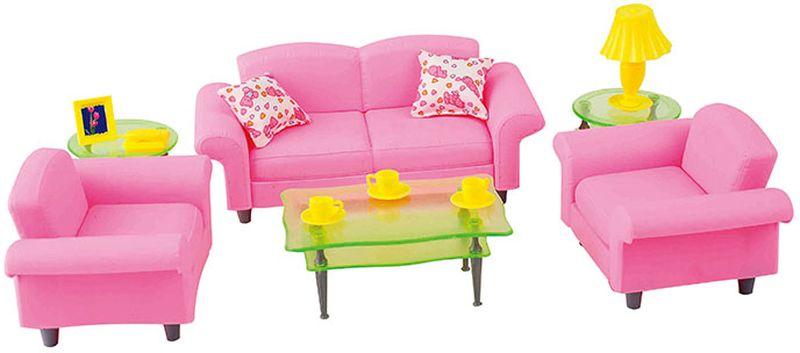 DollyToy Мебель для кукол Гостиная люкс