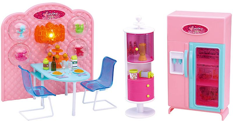DollyToy Мебель для кукол Уютное кафе dollytoy мебель для кукол книжный шкаф