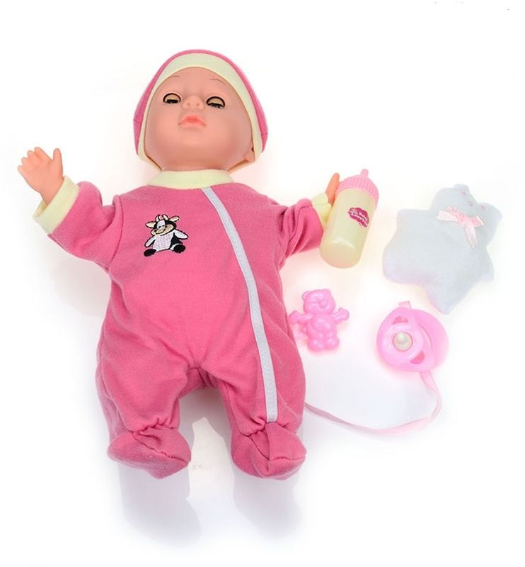 DollyToy Пупс Веселый карапуз dollytoy мебель для кукол книжный шкаф