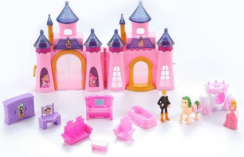 DollyToy Дом для кукол Королевский дворец dollytoy мебель для кукол книжный шкаф