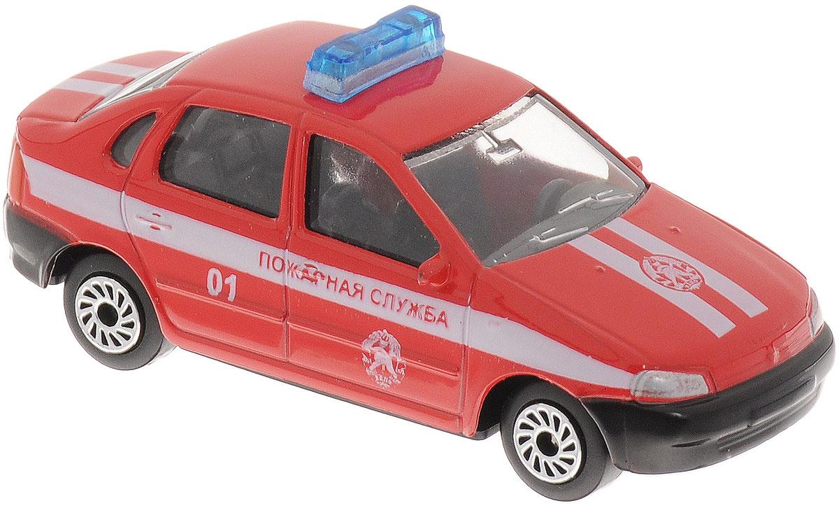 ТехноПарк Модель автомобиль Lada Kalina Пожарная служба 01
