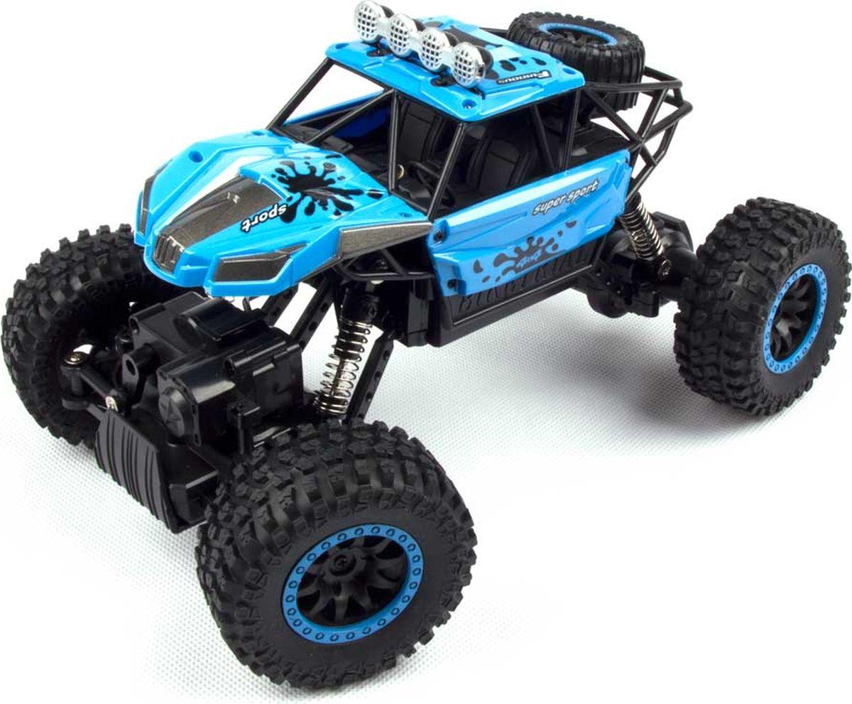 Bluesea Машинка на радиоуправлении Rock Crawler цвет синий bluesea квадрокоптер на радиоуправлении cx 10 цвет голубой
