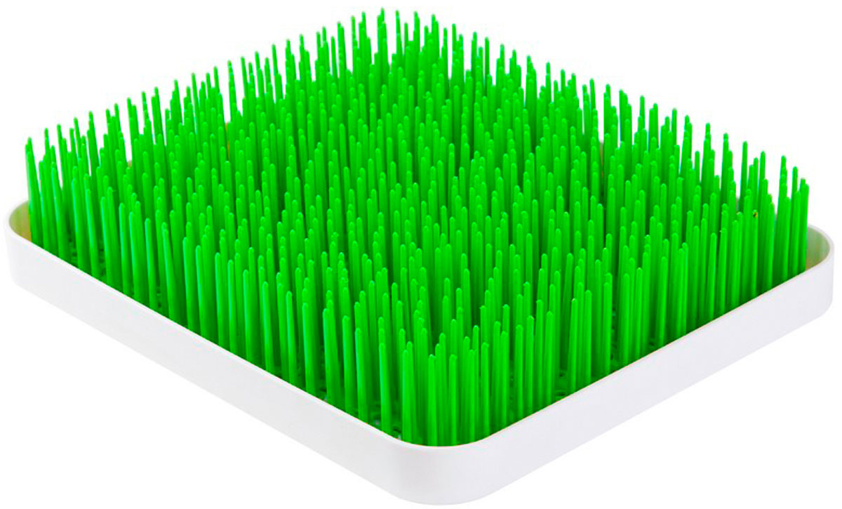 """Сушилка для посуды """"My Garden"""" станет отличным украшением вашей кухни. Уникальный дизайн сушилки в виде кусочка зеленого газона освежит любой интерьер. Сушилка изготовлена из качественного пищевого пластика и представляет собой подставку с длинными пластиковыми держателями, имитирующими траву. В держатели можно положить любую столовую посуду. Вода с посуды будет стекать в специальный отсек, который легко отсоединяется от сушилки. - Уникальный дизайн сушилки в виде зеленого газона. - Сушилка обладает специальным отсеком для слива воды. - Аксессуар отлично впишется в интерьер любой кухни."""