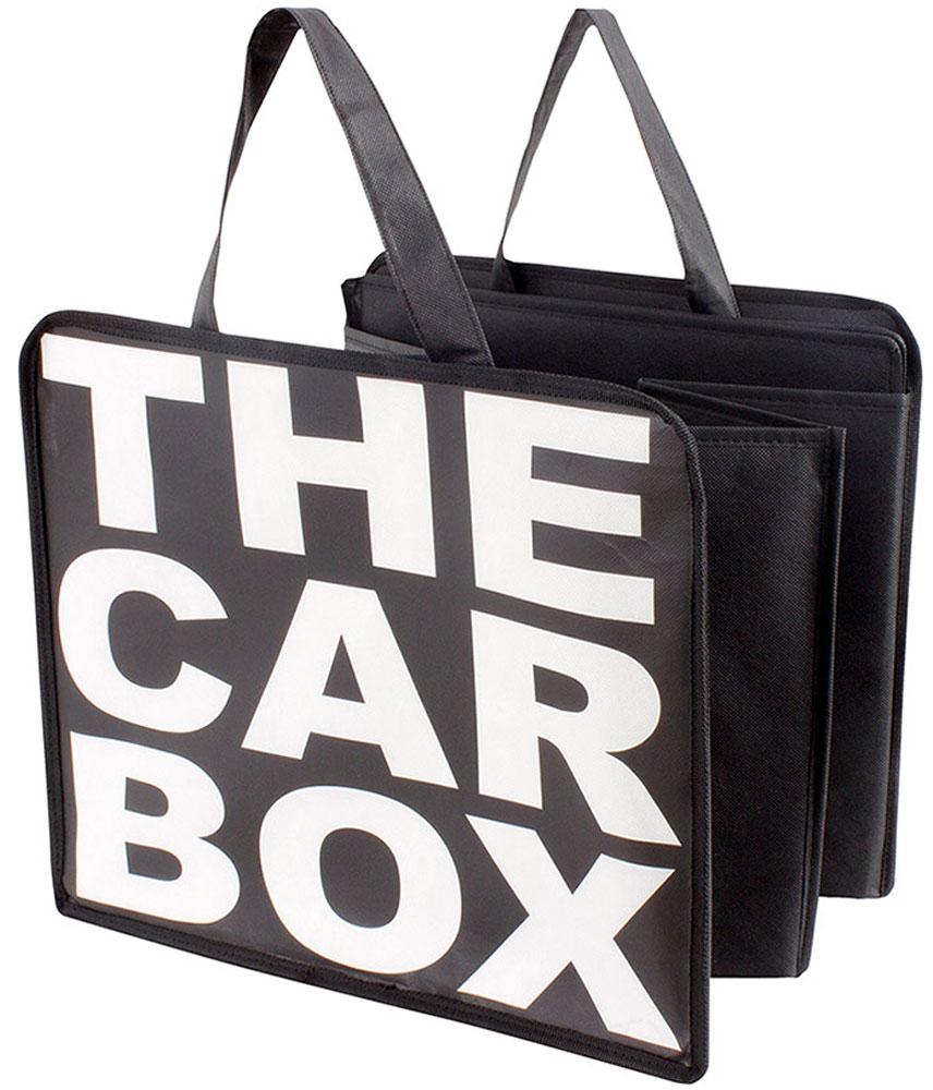 Сумка-органайзер в багажник Balvi The Car Box, цвет: черный25975Сумка-органайзер в багажник The Car Box сочетает в себе удобство, простоту и надежность. Сумка легко складывается и раскладывается, поэтому при необходимости туда можно сложить все необходимые для поездки вещи.- Оригинальное оформление и стильный дизайн.- Простота в обращении и легкость в раскладывании.- Качественные, прочные и износостойкие материалы изготовления.
