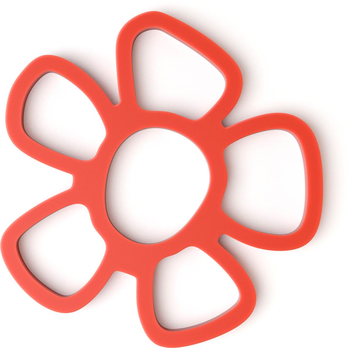 Подставка под горячее Balvi Daisy, магнитная, цвет: красный26179Многофункциональная магнитная подставка Daisy пригодится на кухне любой хозяйке. Она выполнена из силикона. Прикрепив подставку к металлической поверхности, вы можете разместить на ней горячие кухонные предметы - чашки, кастрюли, сковородки. Благодаря магниту подставка отлично крепится к металлической поверхности и не скользит по ней. Плюс ко всему, подставка может послужить отличным украшением на кухне. Стильная зеленая подставка под горячее Daisy облегчит жизнь любой хозяйке, а заодно поднимет настроение своим ярким и позитивным дизайном в виде цветка.- Подставка крепится к металлической поверхности с помощью магнита.- Яркий и привлекательный дизайн в виде цветка.- Можно использовать под горячие кастрюли, чайник, сковородки и т.п.