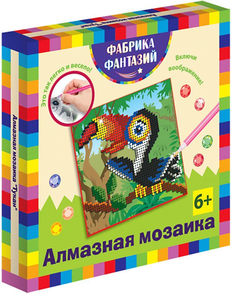 Фабрика Фантазий Мозаика Тукан наборы для поделок цветной алмазная мозаика леопард
