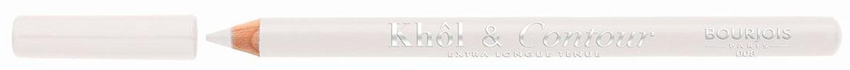 Bourjois Карандаш для глаз контурный Khol & Contour, Тон №00829105333008Мягкая текстура, насыщенные пигментированные оттенки. Стойкость до 16 часов. Подходит для чувствительных глаз благодаря витамину Е и экстракту зеленого чая.