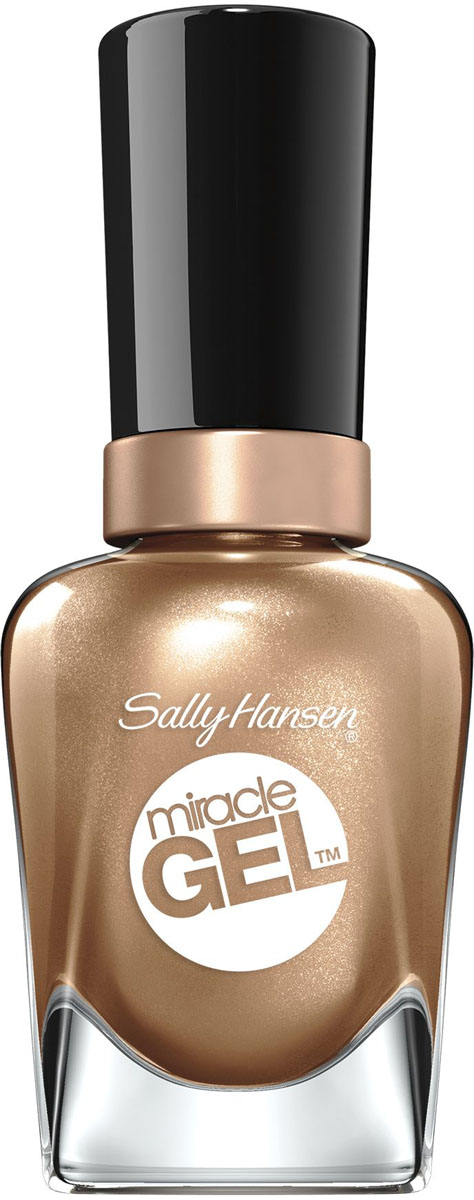 Sally Hansen Гель-Лак для ногтей Miracle Gel, Тон №151 Bronze & Effect, 14 мл30079109151
