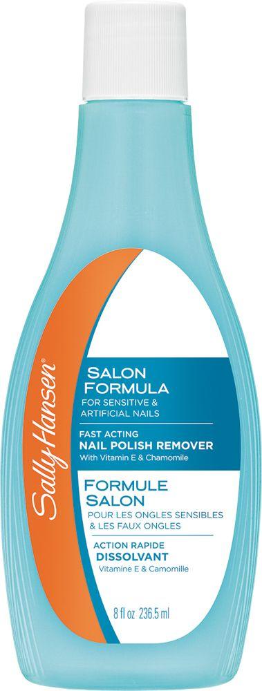 Sally Hansen Жидкость для снятия лака, увлажняющая, для сухих хрупких ногтей Moisturizing For Dry, Brittle Nails, 227 мл