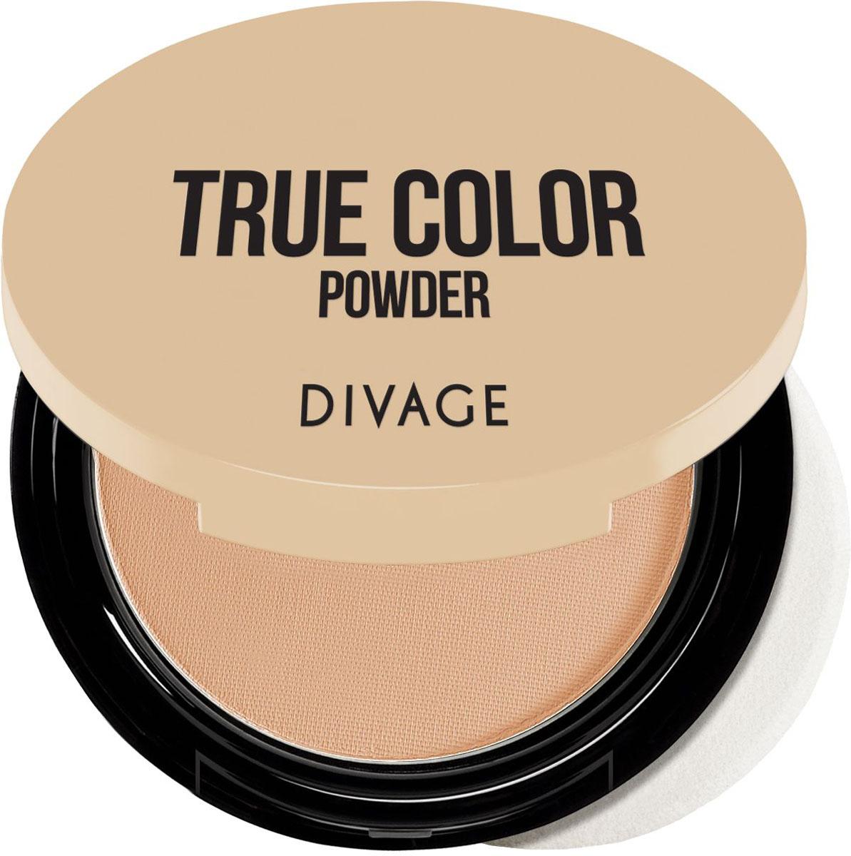 Divage Пудра компактная Compact Powder True Color, Тон №06