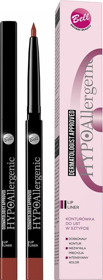 цены Bell Hypoallergenic Карандаш для губ контурный автоматический гипоаллергенный Lip Liner, Тон №02