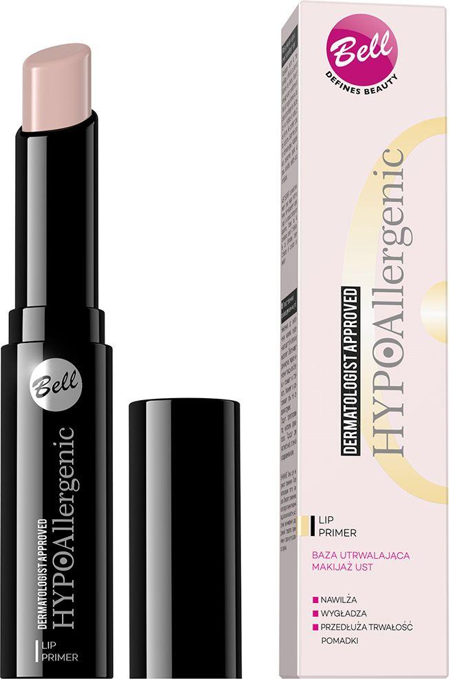Bell Hypoallergenic Праймер для макияжа губ гипоаллергенный Lip Primer16509Благодаря кремовой текстуре база легко наносится, идеально и ровно распределяется. Придает губам здоровый вид, создает эффект влажных и идеально гладких губ. Нанесенная на базу помада или блеск для губ, сохраняют безупречный вид на долгое время.