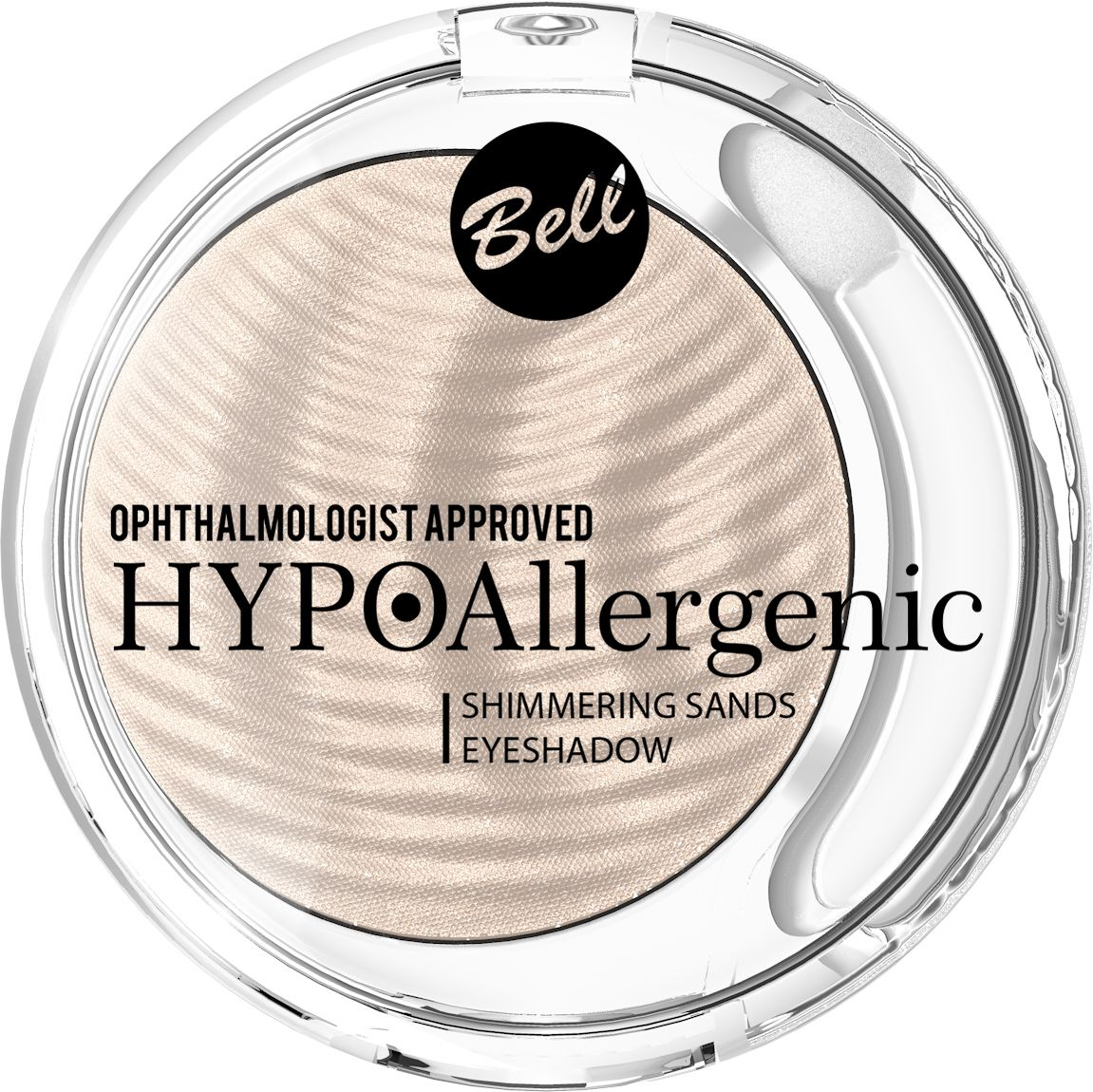 Bell Hypoallergenic Кремовые тени для век Shimmering Sands Eyeshadow, Тон №01BcssHA001