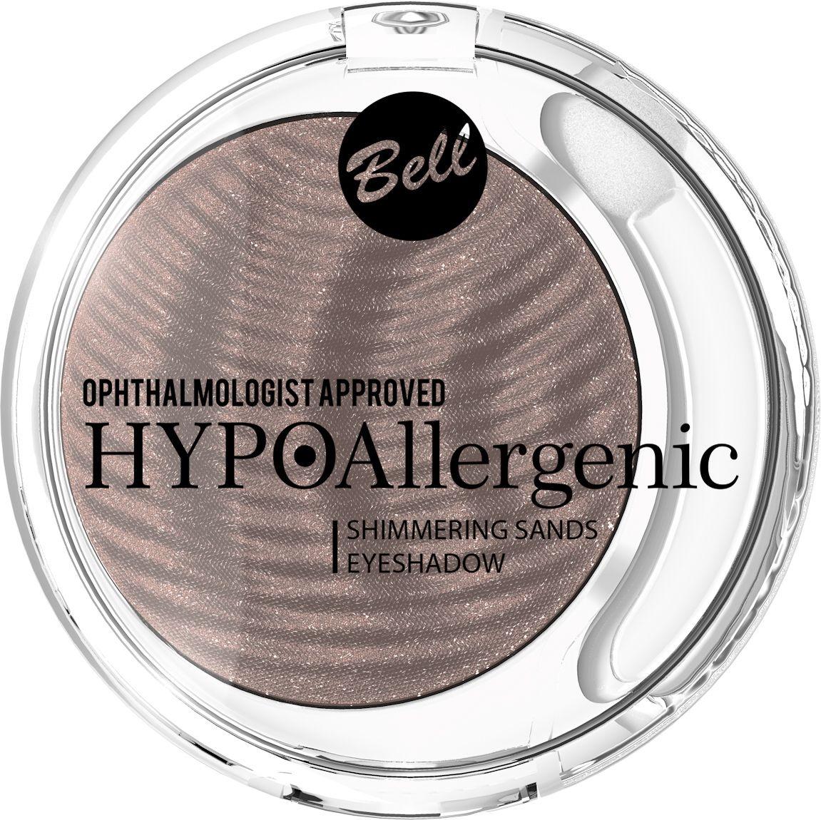 Bell Hypoallergenic Кремовые тени для век Shimmering Sands Eyeshadow, Тон №04BcssHA004