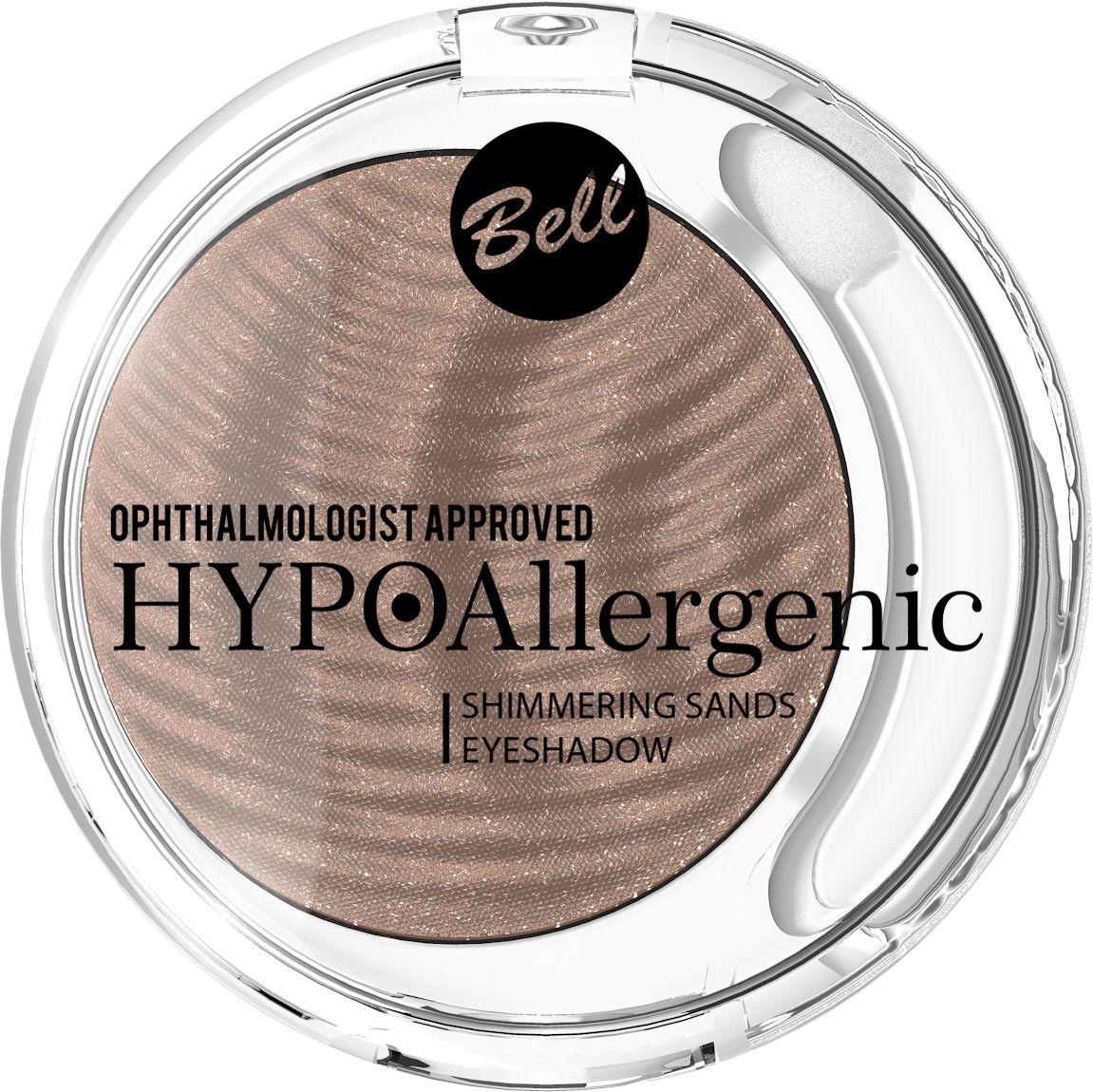 Bell Hypoallergenic Кремовые тени для век Shimmering Sands Eyeshadow, Тон №05