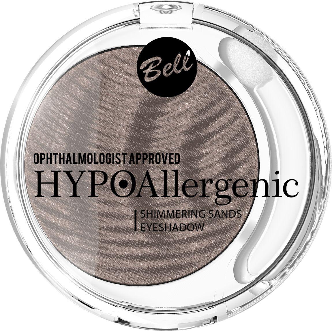 Bell Hypoallergenic Кремовые тени для век Shimmering Sands Eyeshadow, Тон №06BcssHA006