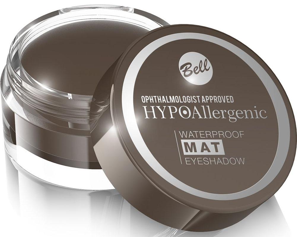 Bell Hypoallergenic Тени для век, водостойкие, матовые Waterproof Mat Eyeshadow, Тон №03BcwmHA003