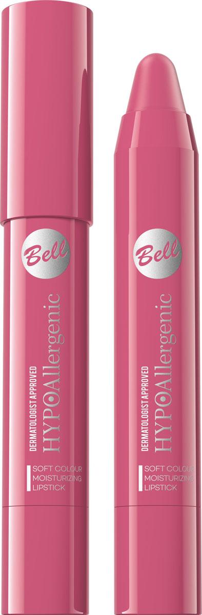 Bell Hypoallergenic Помада-карандаш для губ Soft Colour Moisturizing Lipstick, Тон №03BposHA003