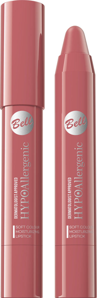 Bell Hypoallergenic Помада-карандаш для губ Soft Colour Moisturizing Lipstick, Тон №05 помады bell bell hypoallergenic помада карандаш для губ soft colour moisturizing lipstick тон 05
