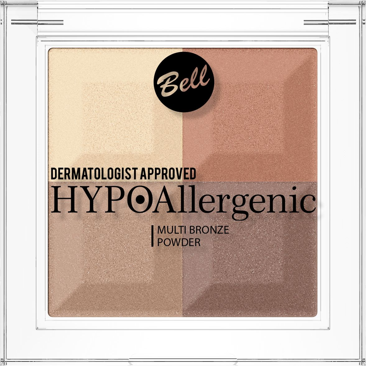 Bell Hypoallergenic Пудра с бронзирующим и осветляющим эффектом Multi Bronze Powder, Тон №03 пудра essence mattifying compact powder 04 цвет 04 perfect beige variant hex name facfbb
