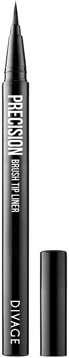 Divage Подводка для глаз, жидкая, с кисточкой, 3 мл angry birds 92 см