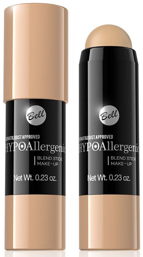 Bell Hypoallergenic Флюид-карандаш, интенсивно скрывающий недостатки Blend Stick Make-Up, Тон №04BsbHA004