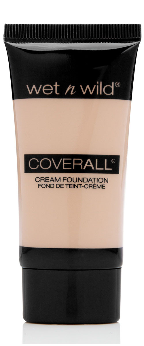 Wet n Wild, Тональный крем для лица Coverall Cream Foundation E815 Fair, 29 млE815Тональная основа , легкая текстура, не закупоривает поры, выравнивает тон кожи.
