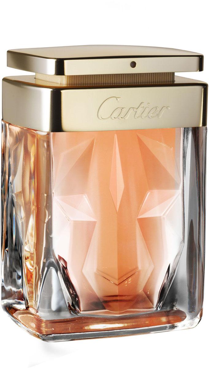 Cartier Парфюмерная вода женская La Panthere, 30 млFS327030Необычный букет изысканных нот, гардения и мягкий бархатистый мускус. В глубине флакона вырисовывается силуэт величественной и загадочной пантеры. верхние ноты: гардения; средние ноты: мускус; шлейф: цветочный мускусный.