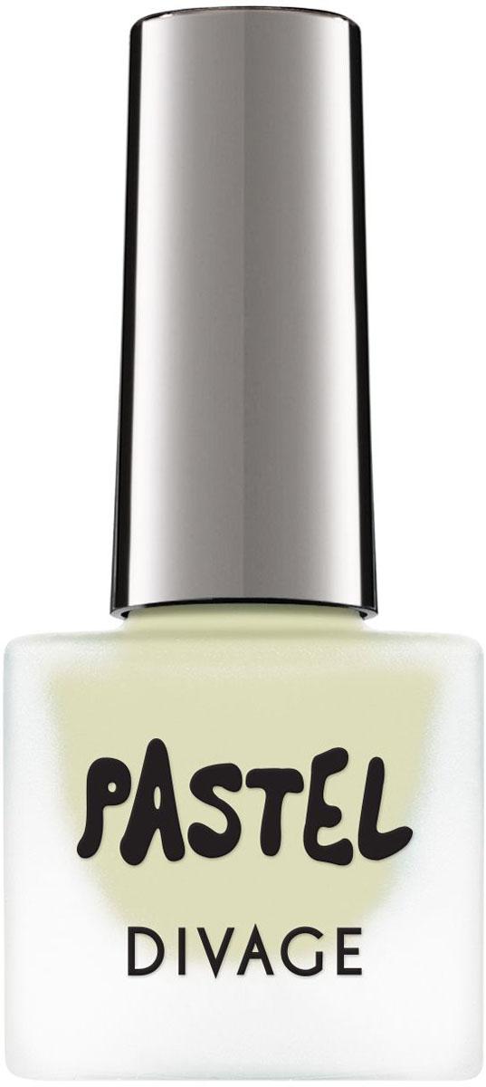 Divage Лак для ногтей Nail Polish Pastel, Тон №01, 7 мл мужские часы casio stl s100h 2a