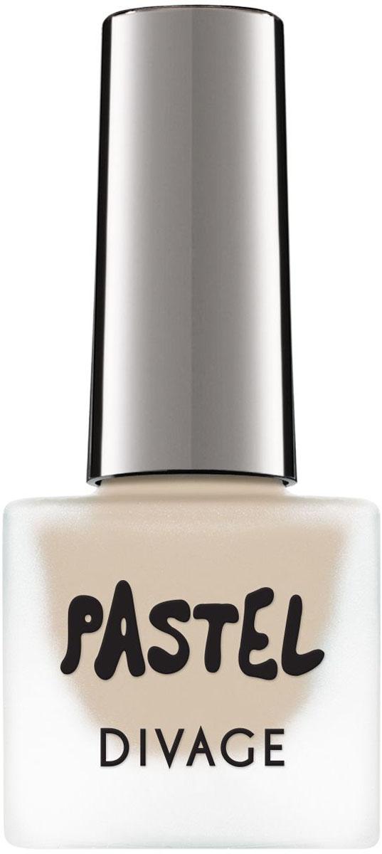 Divage Лак для ногтей Nail Polish Pastel, Тон №02, 7 мл nouba лак для ногтей nail polish тон 435 7 мл