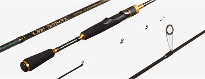 Удилище спиннинговое Lucky John One Sensoric Micro Jig & Rockfishing, штекерное, 0,8-7 г, 7,52 м