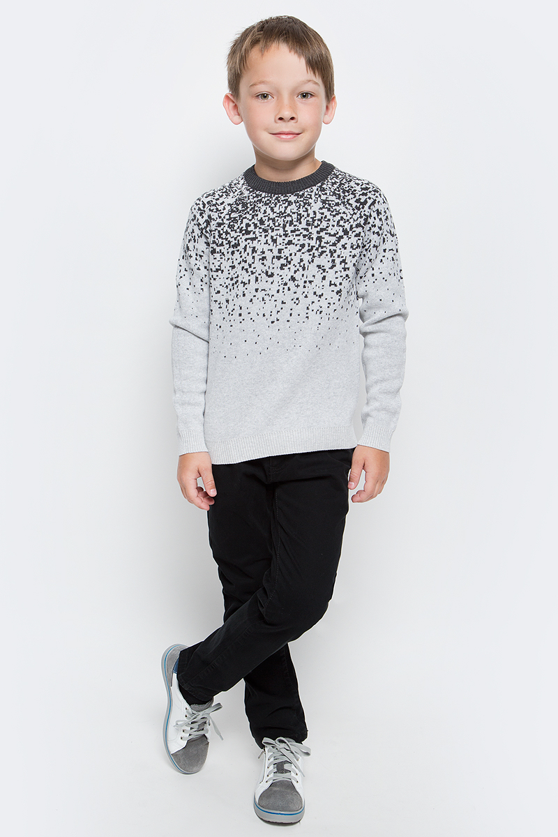 Джемпер для мальчика Overmoon by Acoola Baruba, цвет: серый. 21120310004_1900. Размер 128 infinity by acoola roberto р 122 128 белая