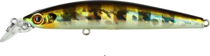 Воблер Tsuribito Minnow F, цвет: серебистый, золотой (007), длина 95 мм, вес 9,6 г