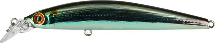 Воблер Tsuribito Minnow F, цвет: серебристый, золотой (035), длина 95 мм, вес 9,6 г