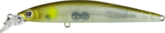 Воблер Tsuribito Minnow F, цвет: серебристый, зеленый (066), длина 95 мм, вес 9,6 г24622Minnow 95F - отличный воблер для ловли на небольших глубинах и над зарослями травы, где часто охотится щука и другие хищники. Благодаря системе дальнего заброса с магнитом воблер очень хорошо летит при забросе, и устойчиво играет даже при проводке с рывками. Мощные тройники надёжно засекают рыбу при поклёвке. Все эти качества вместе с реалистичной игрой делают этот воблер отличным орудием для ловли крупного хищника.Какая приманка для спиннинга лучше. Статья OZON Гид