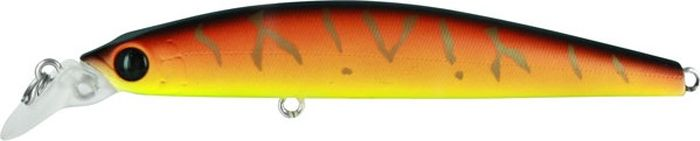 Воблер Tsuribito Minnow S, цвет: желтый, оранжевый (029), длина 95 мм, вес 9,6 г29057Minnow 95S - отличный воблер для ловли на небольших глубинах и над зарослями травы, где часто охотится щука и другие хищники. Благодаря системе дальнего заброса с магнитом воблер очень хорошо летит при забросе, и устойчиво играет даже при проводке с рывками. Мощные тройники надёжно засекают рыбу при поклёвке. Все эти качества вместе с реалистичной игрой делают этот воблер отличным орудием для ловли крупного хищника.