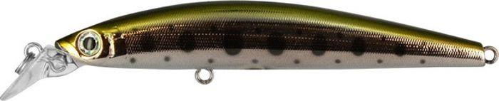 Воблер Tsuribito Minnow S, цвет: серебристый, золотой (053), длина 95 мм, вес 9,6 г